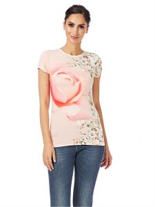 f3c5f81287c7b6 Ted Baker White   pink Round Neck Fashion Vest For Women