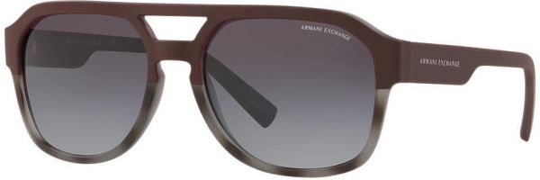 5b1e8768ea7d Armani Exchange Square Men s Sunglasses - 4074S-82488G - 57mm