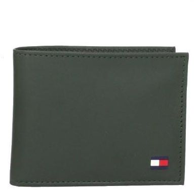 ffc5a78c5 Tommy Hilfiger Men s Leather Passcase Billfold Wallet with Removable ...