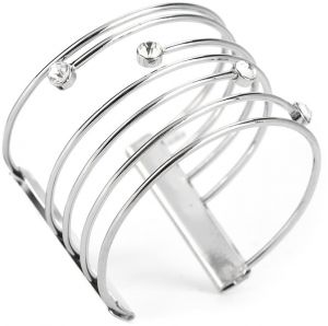 1pc Fashionable Female Women Open Bracelet Alloy Cuff Bangle