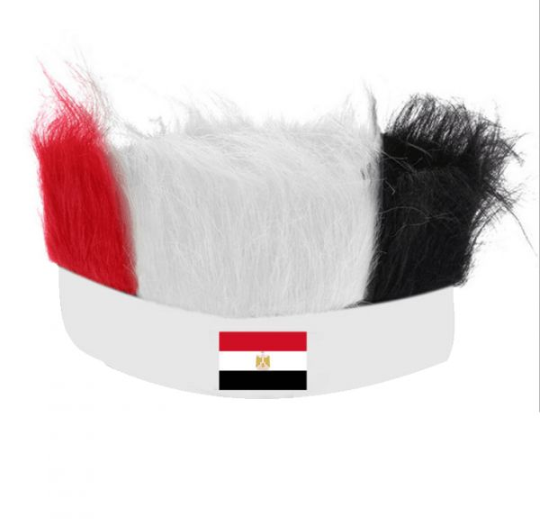 6d116a63f2b celebrate Egyptian team Russia FIFA World Cup Football Fans Wig ...