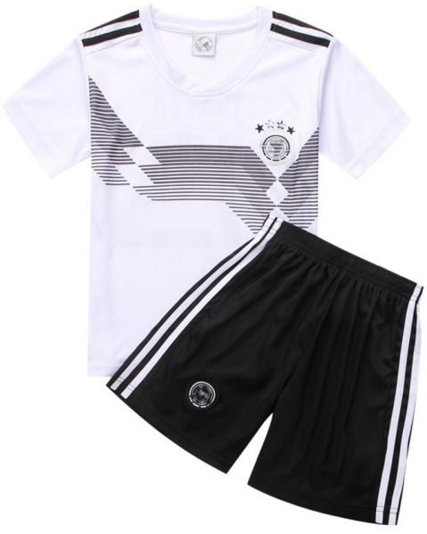 2018 Fifa World Cup Football Jersey Germany Team Child Suits Short Sleeved T Shirt L Code
