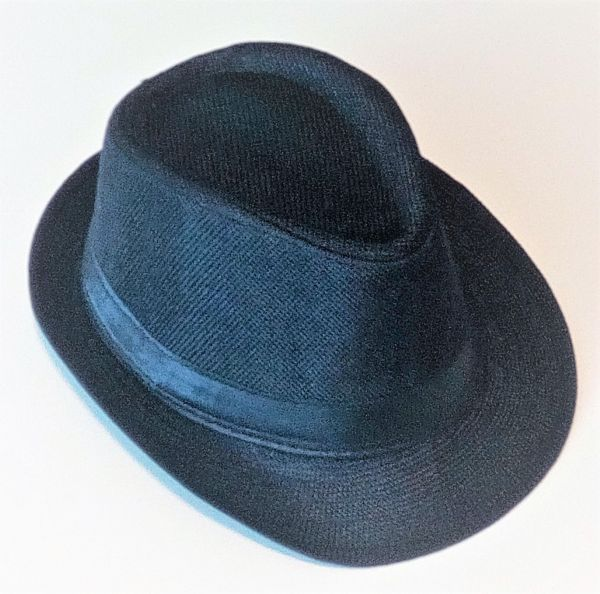 Black Fedora Hat For Kids  e94b6244514