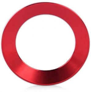 VIQILANY Car Steering Wheel Logo Trim Decoration Ring Sticker Badge Fit For VW  Volkswagen Golf Jetta Polo CC Tiguan - Red 589faf62c7f0