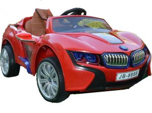 Bebouze Bmw I8 Kids Car With Touch Screen Mp4 Leather Seat Souq