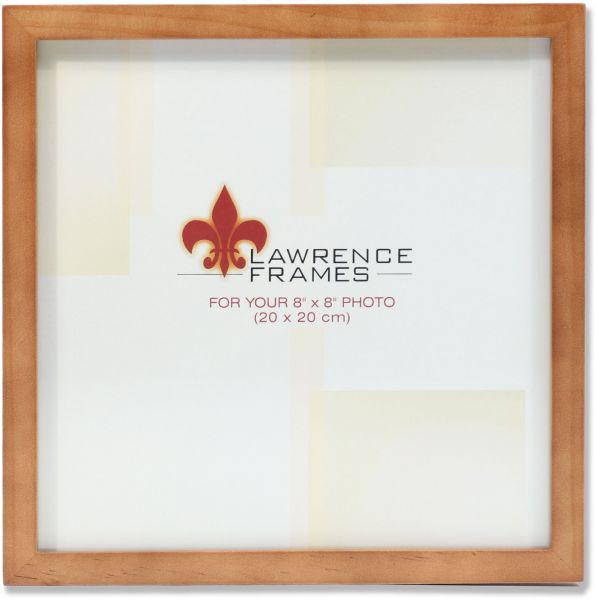 Lawrence Frames 766088 Nutmeg Wood Picture Frame, 8 by 8-Inch | Souq ...