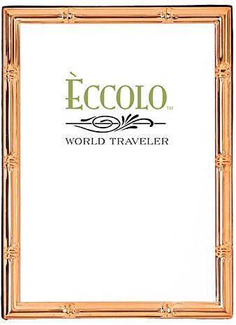 Souq Eccolo Copper Collection Photo Frame 5 By 7 Beaded Wide Uae