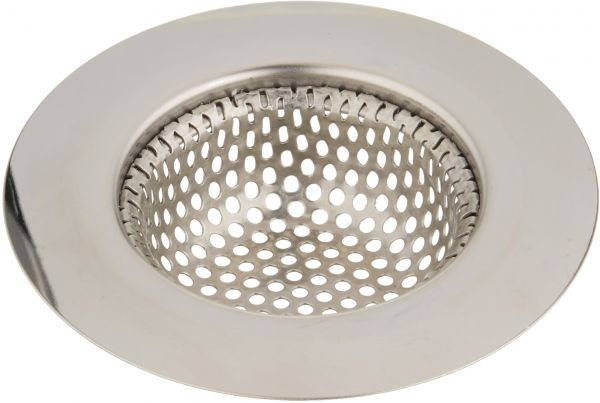 Uxcell a15061000ux0678 Kitchen Bathroom Metal Basin Drain Hair Waste Filter Mesh Sink Strainer
