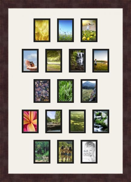 Art To Frames Double Multimat 302 6189 Frbw26061 Collage Frame