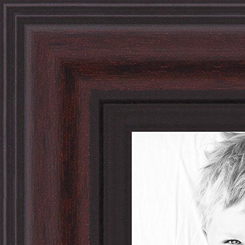 Picture Frame Traditional Cherry With Steps 125 Wide 12 X 15