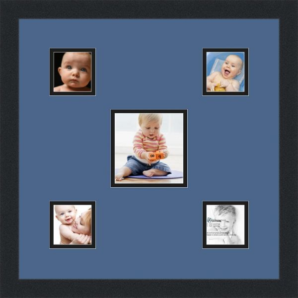 Arttoframes Alphabet Photography Picture Frame With 1 5x5 And 4