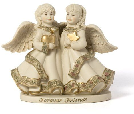 Sarah S Angels Tapestry Series Forever Friends Figurine 4 1 2 Inch By Home Decor