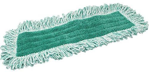 Zwipes Professional Premium Microfiber Dust Replacement Mop Pads with  Fringe, 36 inch, 2-Pack, Green