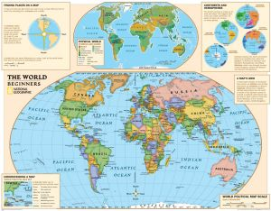 National and laminated map national geographic mapsnational national geographic kids beginners world education grades k 3 wall map laminated 51 x 40 inches national geographic reference map publicscrutiny Images