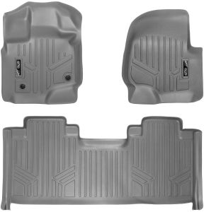 GM Accessories 19201660 Front Carpeted Floor Mats in Ebony with GMC Logo General Motors