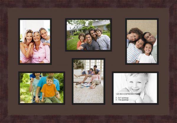 Art To Frames Double Multimat 351 77689 Frbw26061 Collage Frame