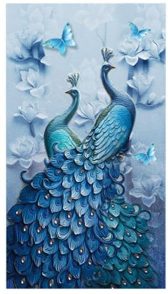 5D Diamond Painting Kit Embroidery DIY Paint-By-Number Cross Stitch Home Decor Beautiful Scenery