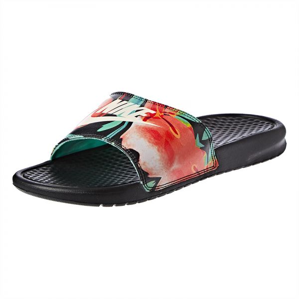 new concept 30d24 cc4f4 Buy Nike Benassi JDI print Slides for Women in UAE