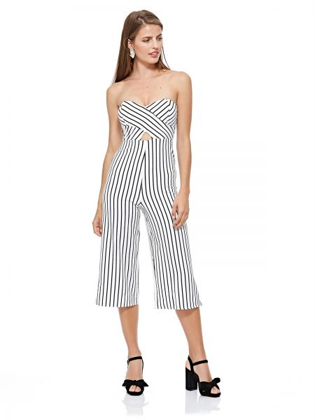 cf0c22d2b68 Tally Weijl Straight Jumpsuit for Women - White