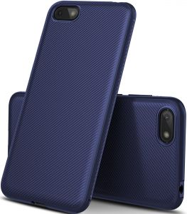 Honor 7S case, Scratch Resistant Soft TPU case cover for Huawei Honor 7S, Blue