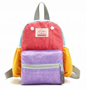 cb33bcfb9ae7 LANSERM Kid s School Backpack Book Bag for Children Nylon Rainbow Daypack