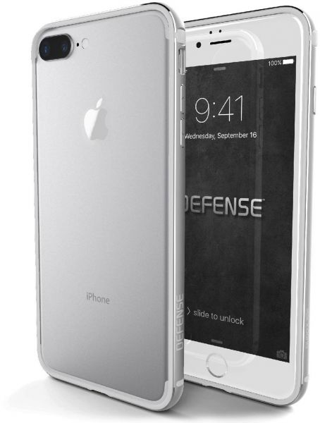 reputable site 1258e 442d1 Apple iPhone 7 Plus Protection Cover - Silver