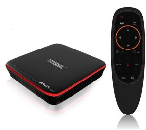 Mecool M8S PRO W (Voice Control Remote) Android 7.1 TV Box ROM 16GB, RAM 2GB S905W 4K WiFi Amlogic 64Bits