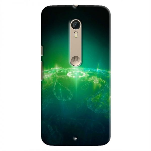 Cover It Up - Green Pattern Planet Moto X Style Hard Case  74a72992a1d
