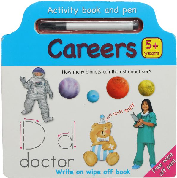 Activity Book With Pen : Careers By Edugate | KSA | Souq