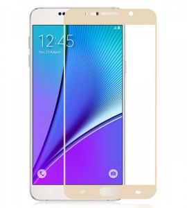 Tempered-Glass Screen Protector For Oppo_F1S (Gold)