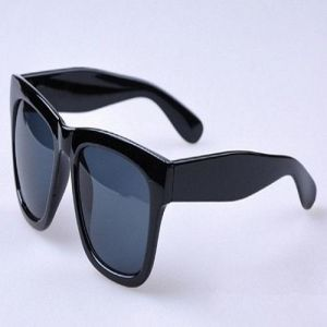 05b56e59be90c Newest Excellent Black sun glasses Retro Reflective Sunglasses Eyewear  Clear Frame