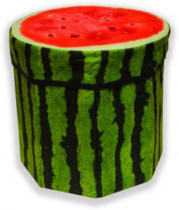 Admirable Folding Stool And Box Watermelon Caraccident5 Cool Chair Designs And Ideas Caraccident5Info