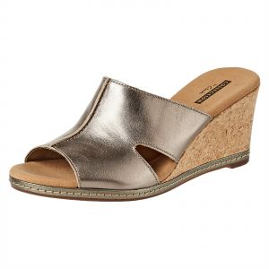 d0583a547ff Clarks Multi Color Wedge Sandal For Women