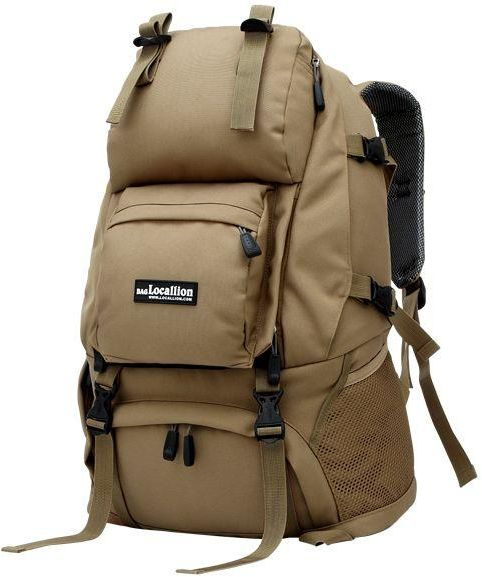 f6817640fe09 Outdoor Men s Backpack 40L Large Capacity Waterproof Tactical Rucksacks  Pack Bag for Mountain Climbing Hunting Shooting Camping Hiking Traveling  khaki