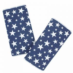 Baby Children Safety Strap Car Seat Belts Pillow Shoulder Protection Styling Accessories Blue Star