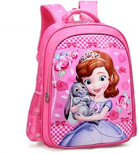 4dfe48334163 Cartoon lovely School Bags For Boys Girls Waterproof Backpacks Child Snow  White Book bag Kids Shoulder Bag Satchel Knapsack qy
