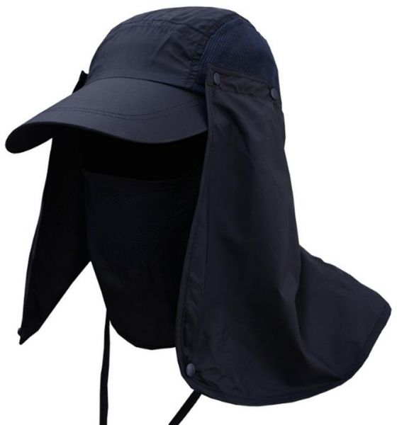 2a1c3e65669 Sun Hats Neck Flap Cover for Cycling Hiking Camping Gardening Cap  Detachable-YJ15