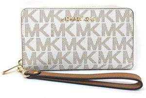 f546fcd81250 Michael Kors Jet Set Travel Large Flat Multifunction Phone Case Wristlet