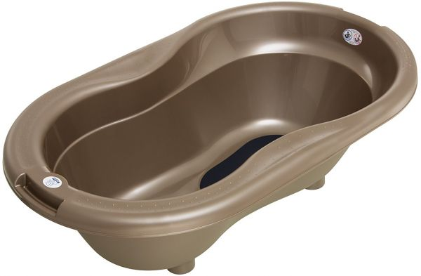 Rotho Babydesign Bathtub For Kids - Brown | Bathing | kanbkam.com