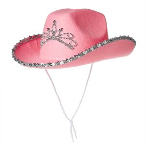 82415bac073 Costumes USA Cowboy Hat for Girls - Pink