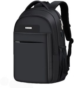 2983558dd6 Men nylon backpack student leisure bag contracted large capacity bag whith  USB multi-function business women laptop bag