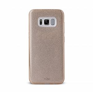 Puro Cases and Covers for Samsung Galaxy S8 , Gold - SGS8SHINEGOLD