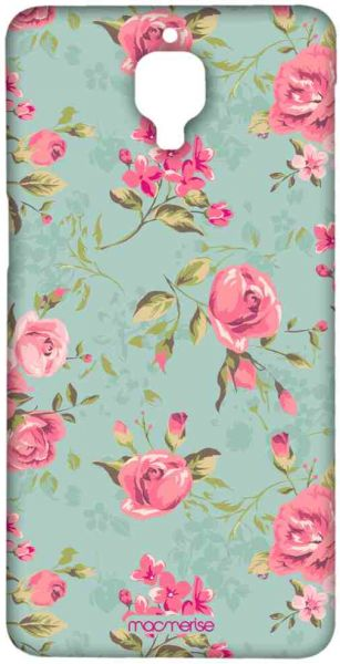 Macmerise Teal Pink Flowers Sublime Case For Oneplus 33t Multi