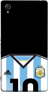 47662fb52a6a3 ColorKing Football Argentina 10 Black shell case cover for Sony Xperia Z5  Premium