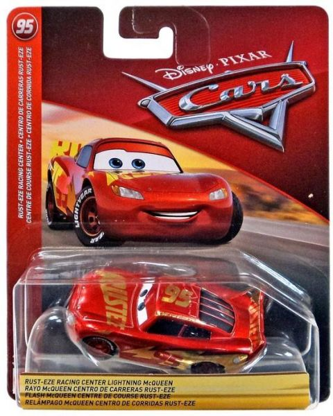 Disney Cars 3 Lightning Mcqueen Rust Eze Racing Center Vehicle Ksa