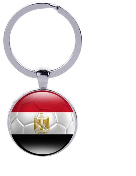 86054bd148f Egypt national Flag Football Key Chain Souvenir world cup