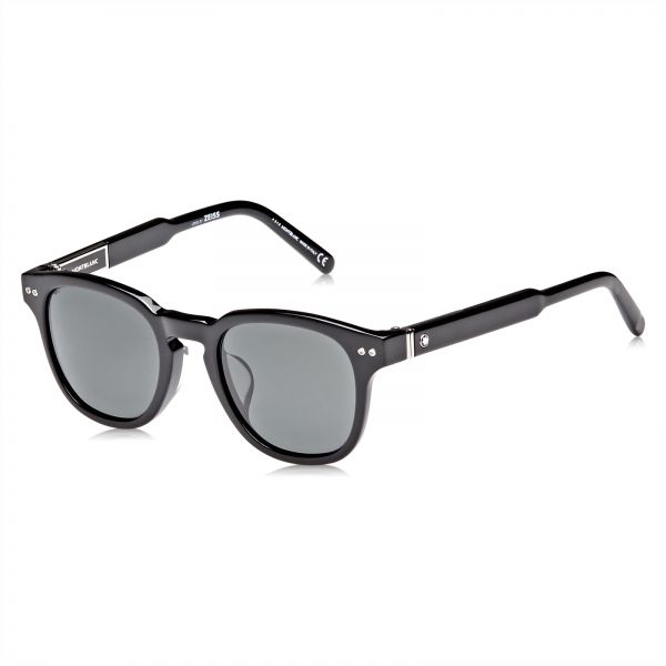 8a531f19f2 Mont Blanc Erika Sunglasses for Men - Grey Lens