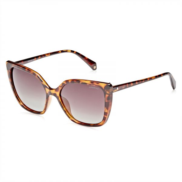 a98a7a7812 Polaroid Butterfly Sunglasses for Women - Brown Lense