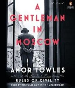 A Gentleman in Moscow: A Novel Audio CD - Audiobook, CD