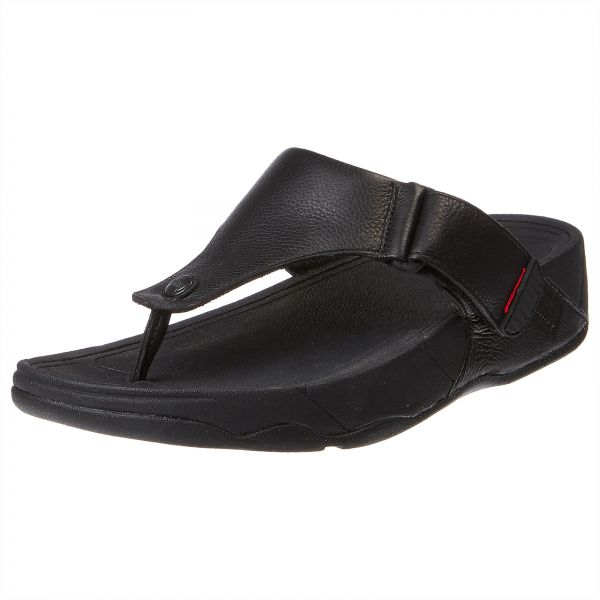 29a8b6829749fc FitFlop Trakk II Thongs for Men - Black